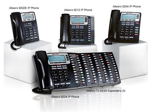 allworx 9202 9212 9204 9224 IP phone 92/24 expanders