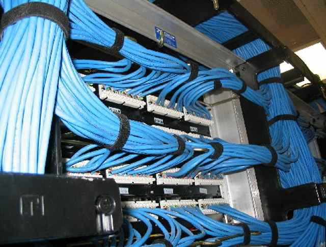cat5 and cat6 data network wiring