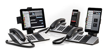 Shoretel Doc phone system high quality audio with handset, speakerphone, headset support